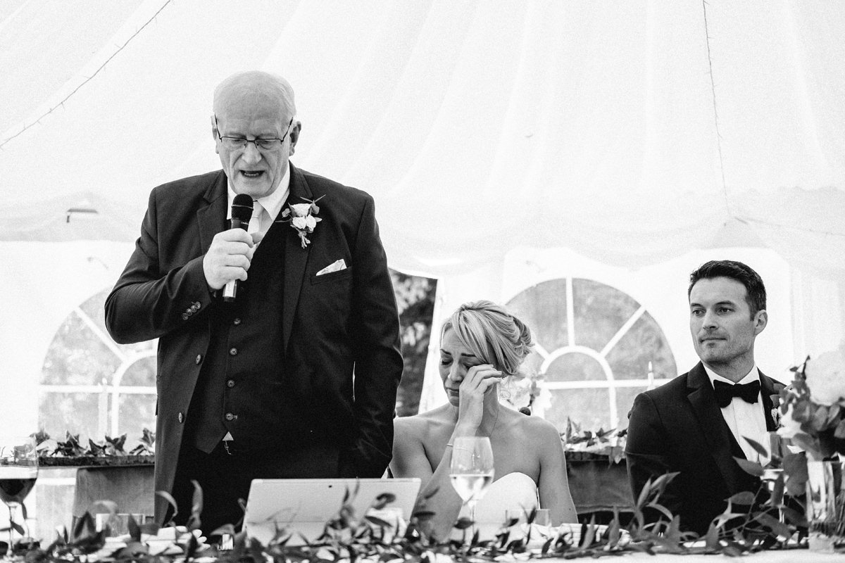 wedding speeches at cloughjordan wedding