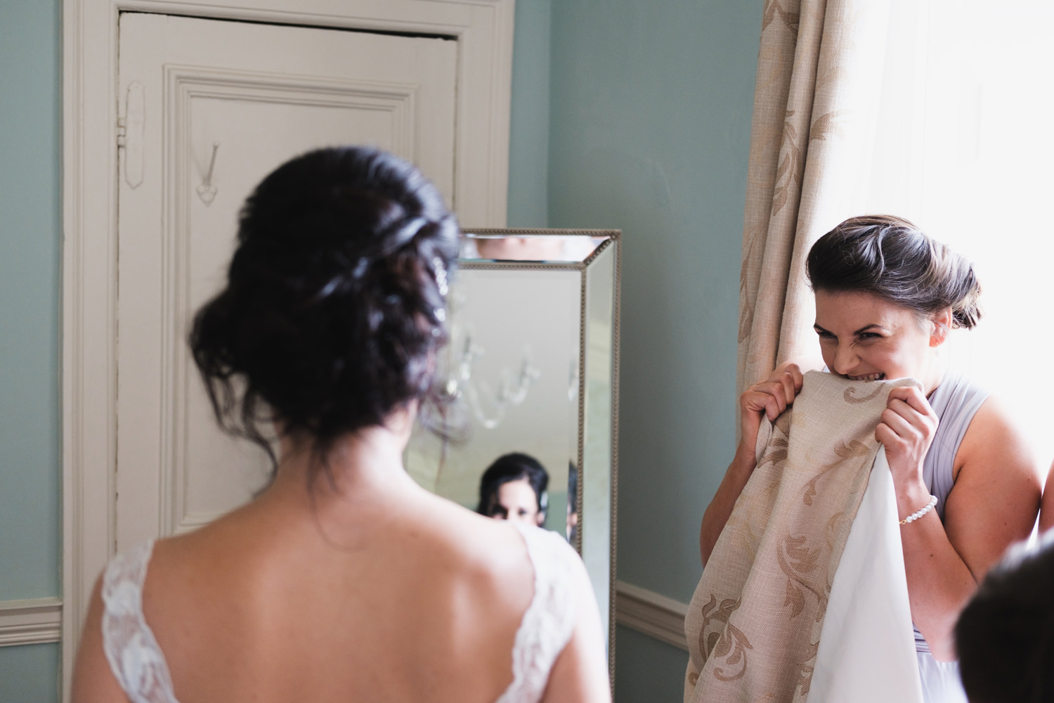 naturual candid wedding photographer ireland
