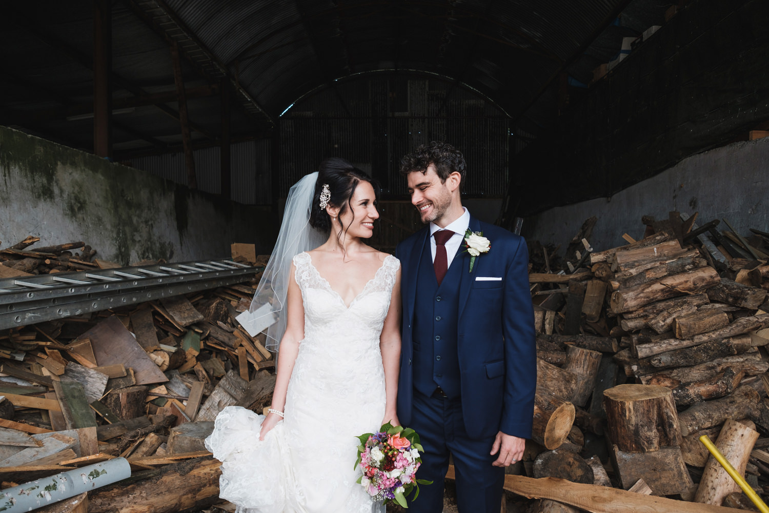 creative wedding photography by david mcclelland ireland