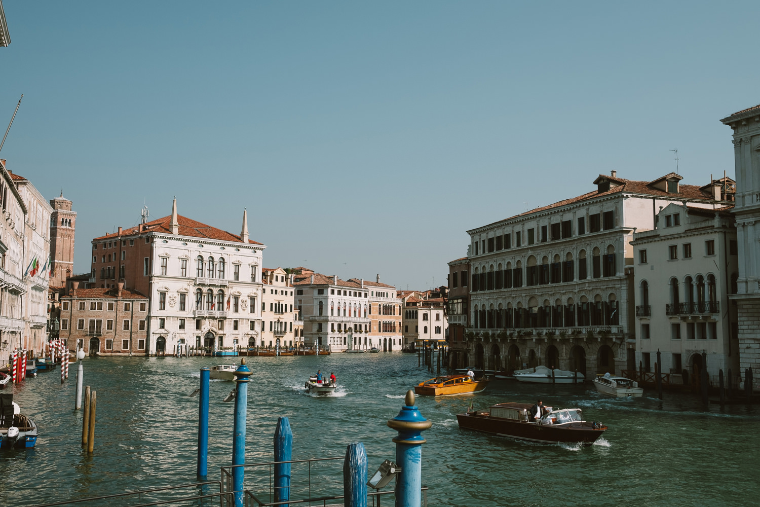 view from ca rezzonico in venice