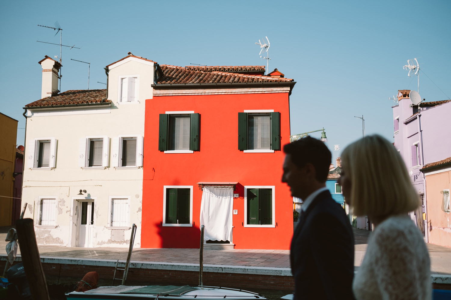 wedding portraits in murano for destination wedding by david mcc