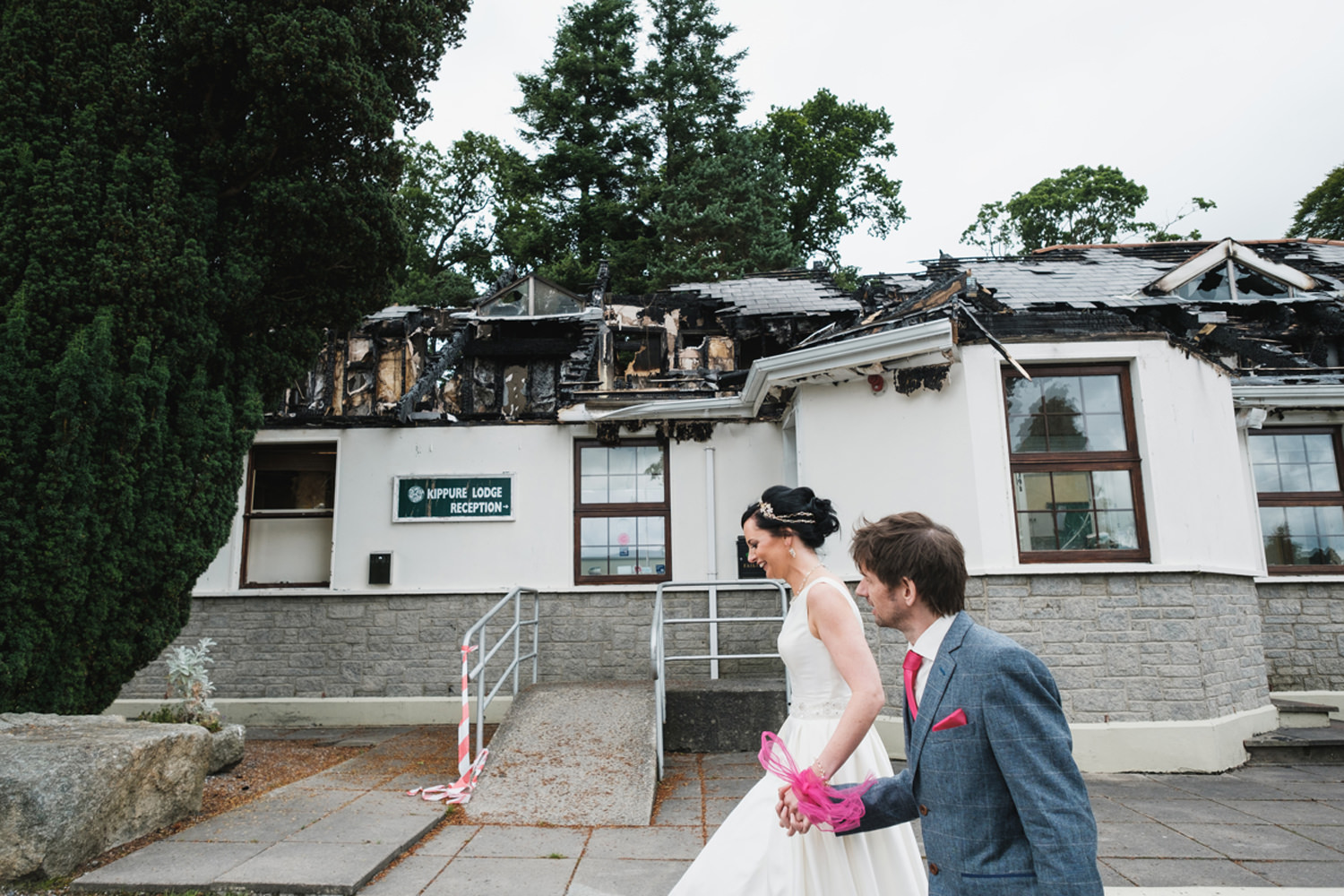 Burnt Down Wedding Venue