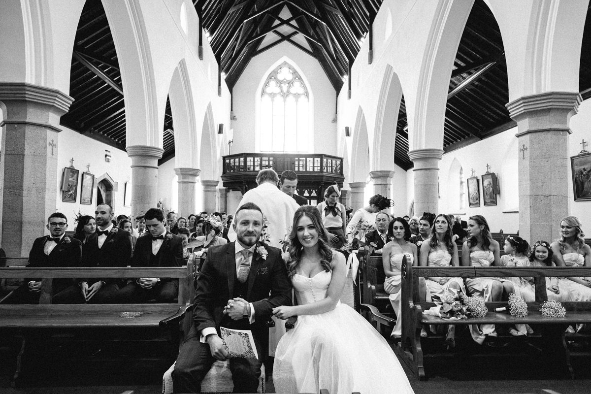 church wedding ireland fujifilm