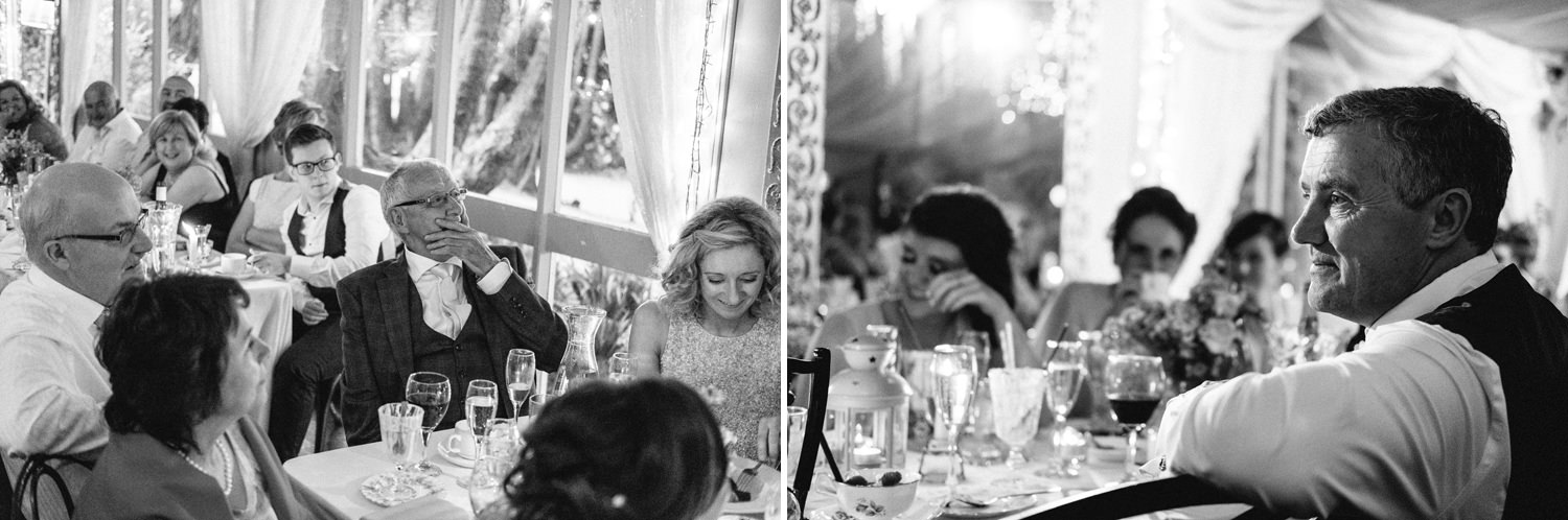 candid relaxed wedding photographs