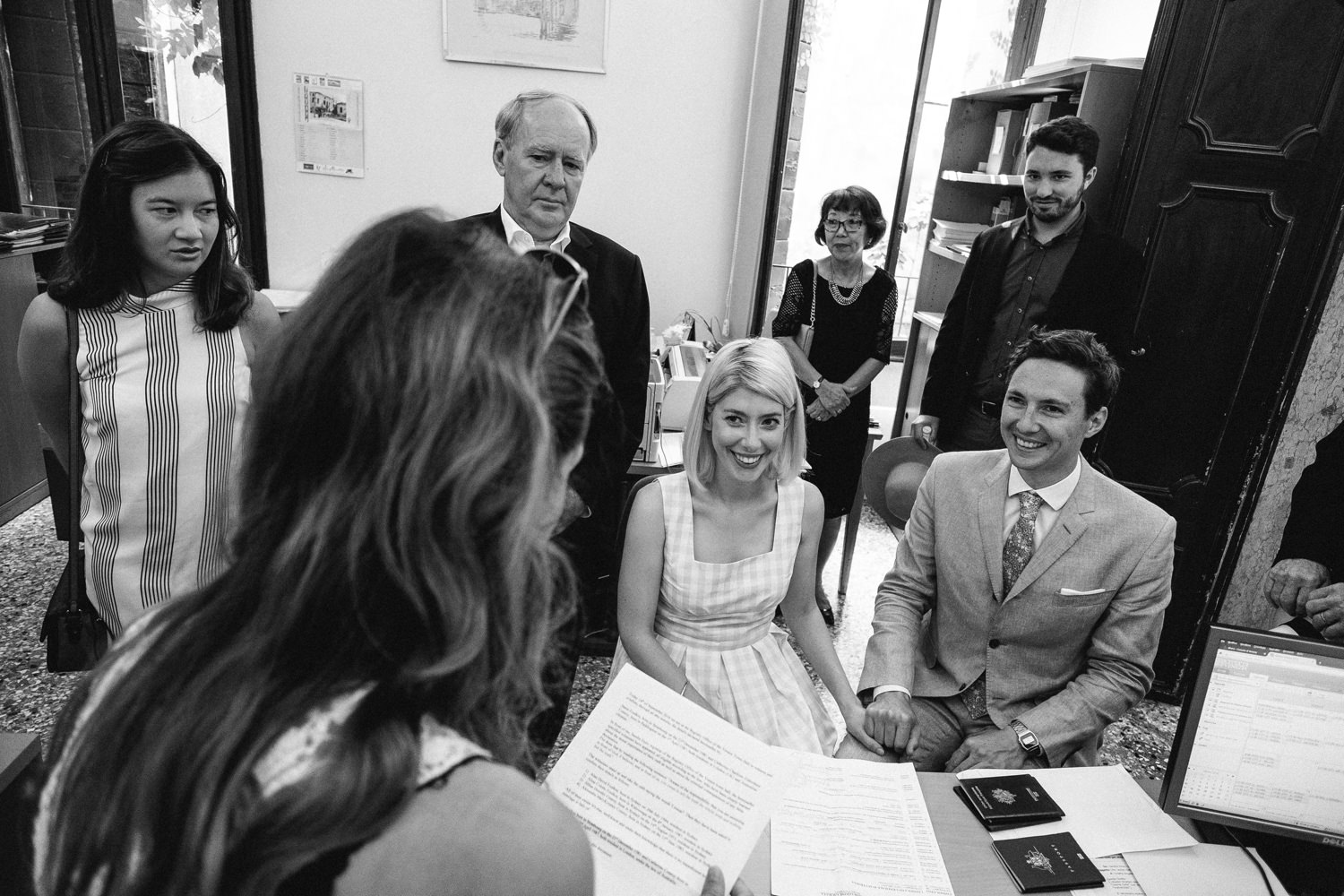 legal ceremony at plazzo cavalli