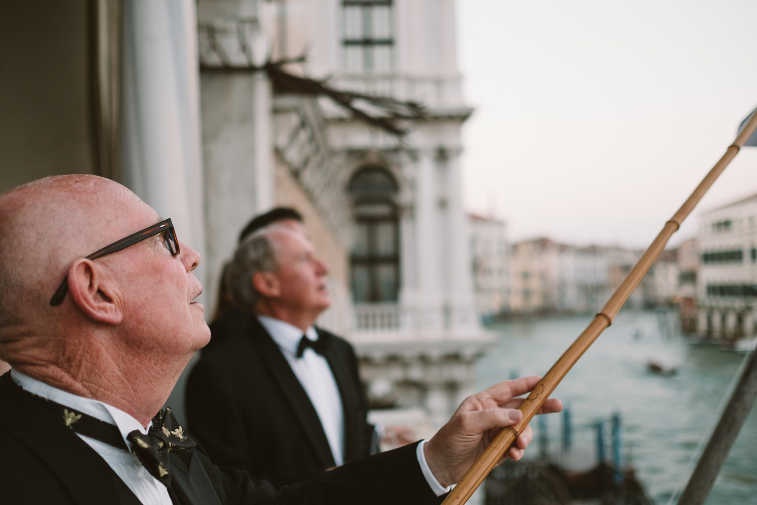 black tie wedding in venice