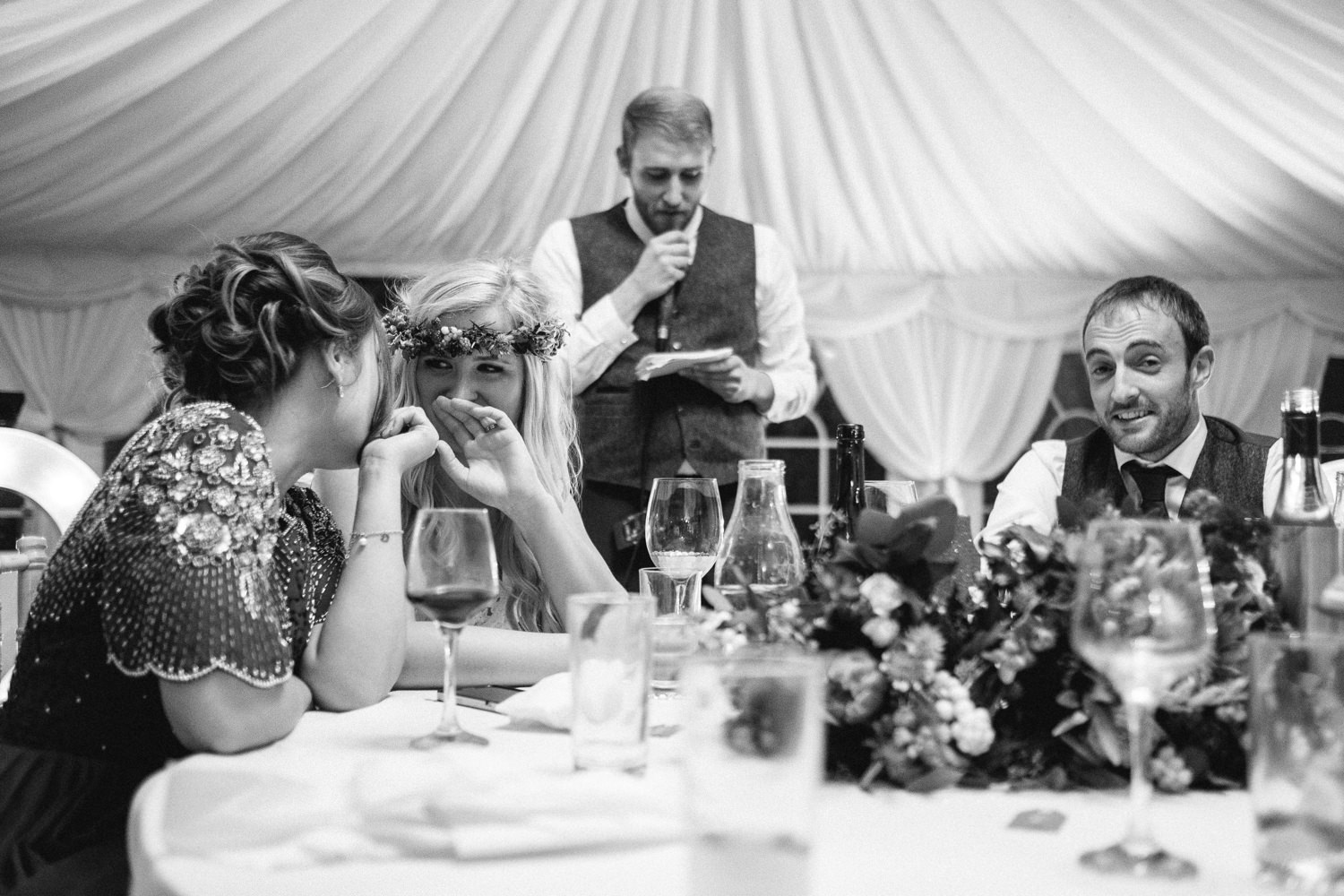 wedding speeches and dances candid unposed photography