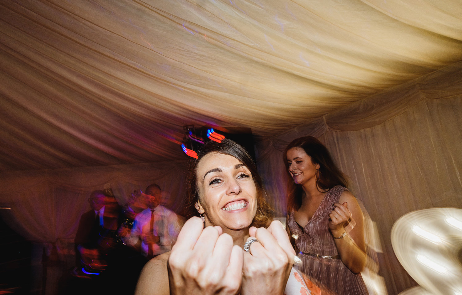 wedding dances candid unposed photography festival style marquee