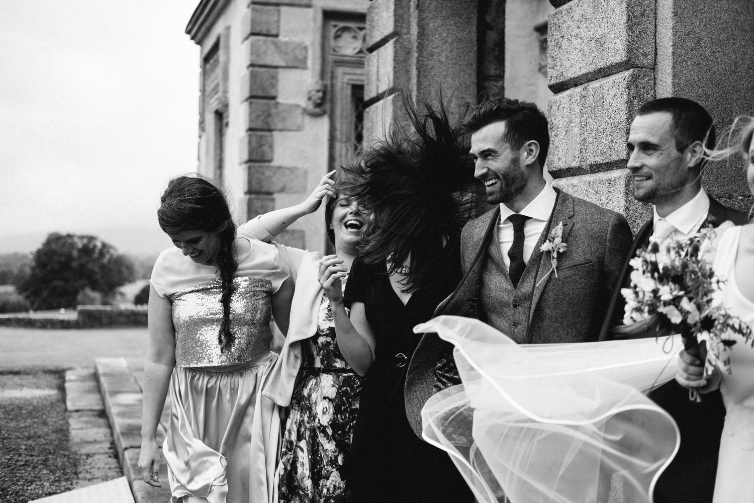 relaxed wedding photography borris house