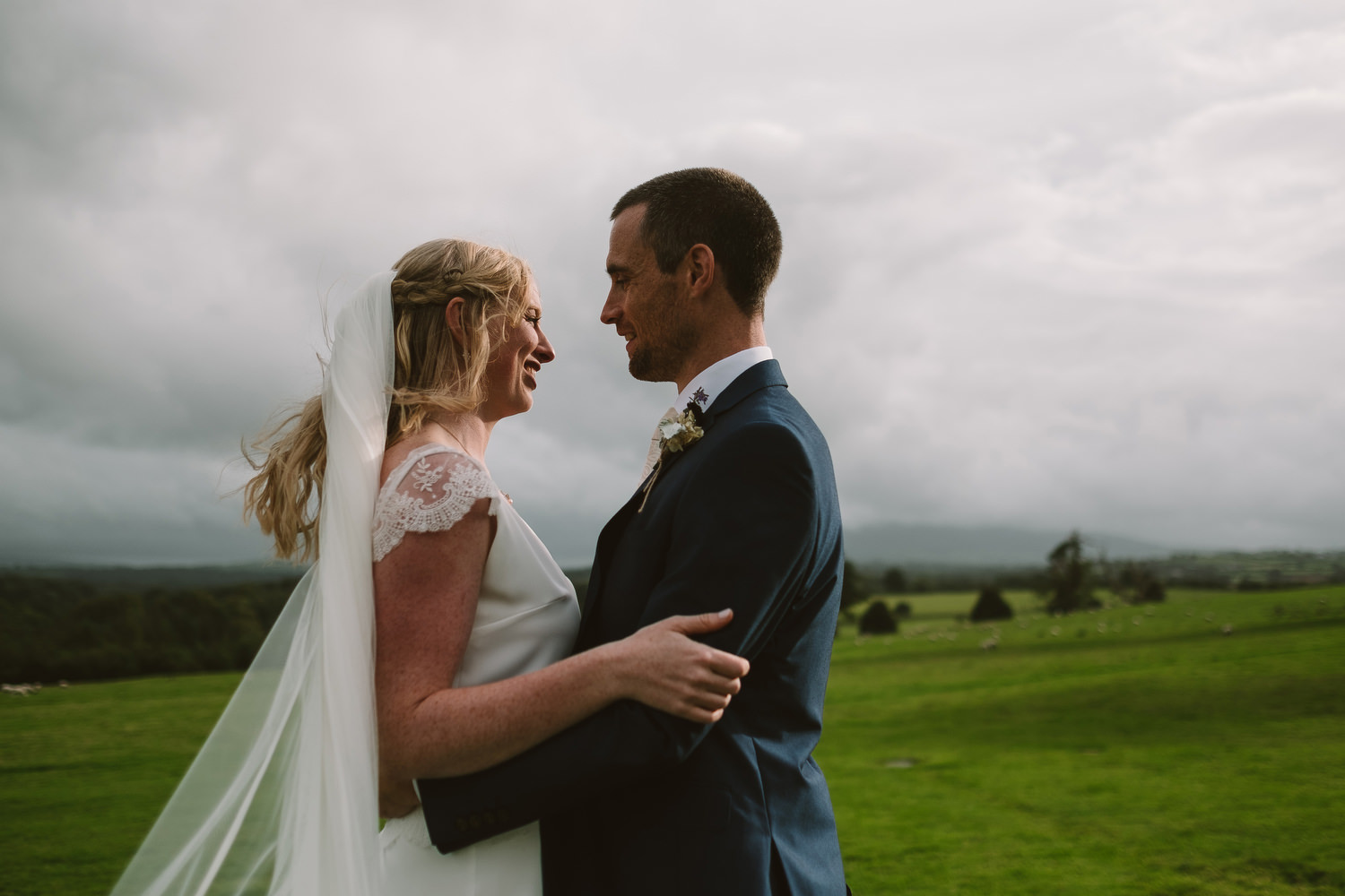 fun creative wedding photographer ireland