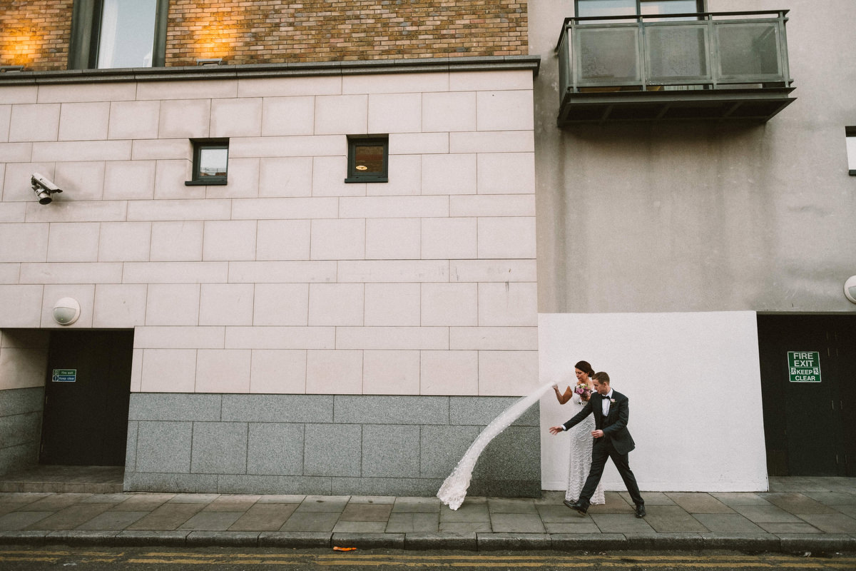 dublin city wedding photography